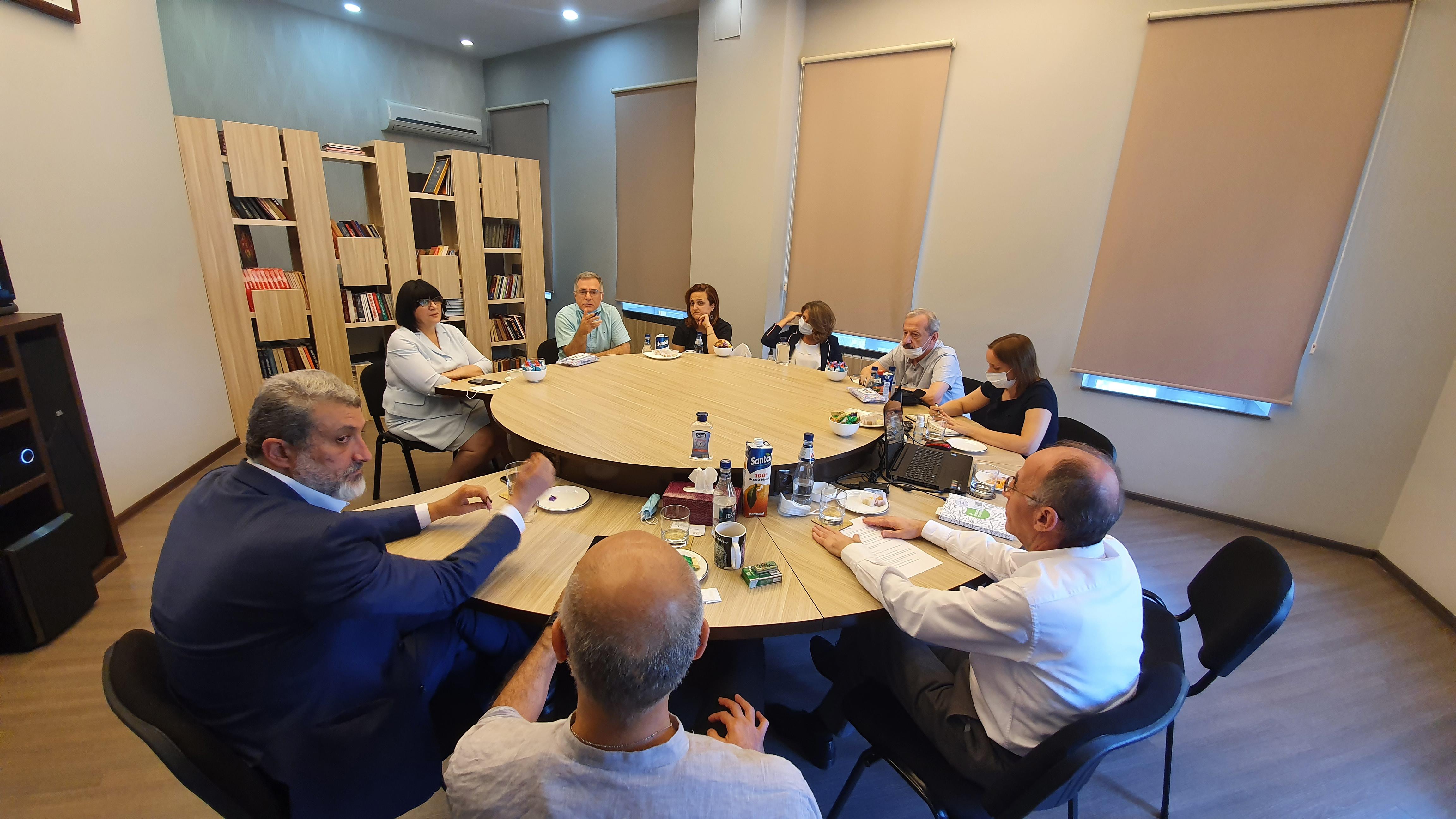 Խորհուրդն ընդունել է Վրաստանից ժամանած մասնագետների պատվիրակությանը